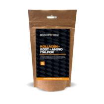 Biocom Kollagén+Rost+Amino Italp mangó ízű utántöltős 510g