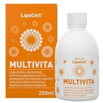 LipoCell Multivita liposzómás multivitamin 250 ml