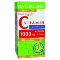 Naturland C-vitamin 1000 mg tabletta 40 db