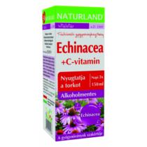 Naturland Echinacea+ C-vitamin szirup 150 ml