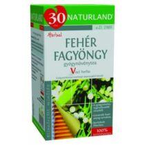 Naturland Fehér fagyöngy tea filteres 25 db