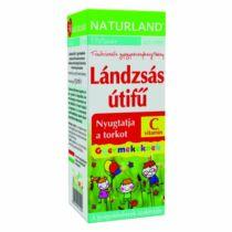 Naturland Lándzsás útifű szirup gyermeknek 150 ml