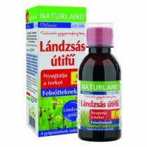 Naturland lándzsás útifű szirup+ C-vitamin 150 ml