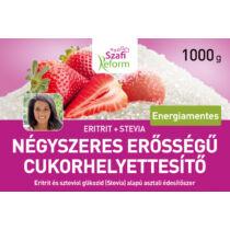 Szafi Reform Eritrit+Stevia négyszeres erősségű cukorhelyettesítő 500 g