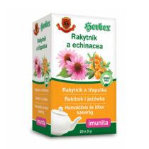 Herbex homoktövis és bíbor kasvirág tea filteres 20db