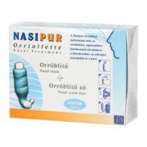 Nasipur Orröblítő készülék + orröblítő só 30 db