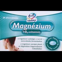 1×1 Vitaday Magnézium +B6 vitamin 30 db