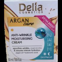 Delia Ránctalanító hidratáló arckrém hyaluronsav+argánolaj 50 ml
