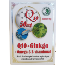 Dr. Chen Q10+ Ginkgo+ Omega 3 kapszula 30 db