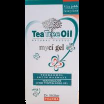 Dr. Müller Tea Tree oil női intim tisztálkodó gél 200 ml