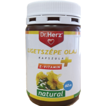 Dr. Herz Ligetszépe olaj + E vitamin kapszula 60 db
