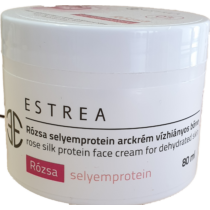 Estrea Rózsa selyemprotein arckrém vízhiányos bőrre 80 ml