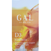 Gal D 3 vitamin csepp 30 ml