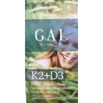 Gal K2+D3 vitamin csepp 20 ml