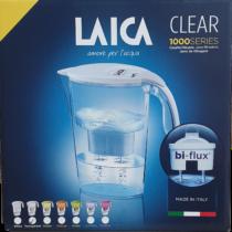 Laica Clear line kancsó + 1 filter átlátszó fehér 2,3 l