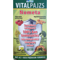 Vitalpajzs Nometa tabletta 60 db