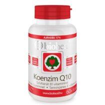 Bioheal Koenzim Q10 60mg szívbarát B1 + szelén lágykapszula 70db