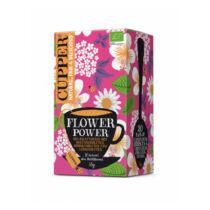 Cupper Bio flower power élénkítő tea filteres 20db