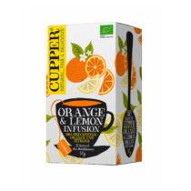 Cupper Bio narancs-citrom gyümölcstea filteres 20db