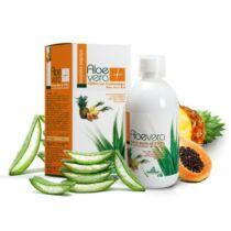 Naturtanya Specchiasol 100%-os aloe vera ananásszal, papayával és fekete ribizlivel 1000 ml
