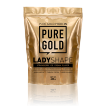 Pure Gold Lady Shape 450g (Strawberry Ice Cream)