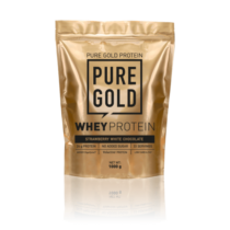 Pure Gold Whey Protein 1000 g (Strawberry White Chocolate)