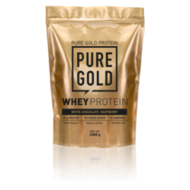 Pure Gold Whey Protein 2300 g (Fehér csoki-málna)