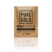 Pure Gold Whey Protein 30 g (White Chocolate Raspberry)