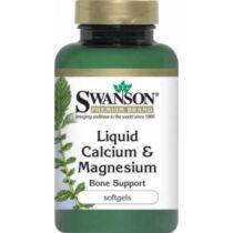 Swanson Folyékony Kalcium-magnézium kapszula 100 db
