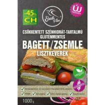 Szafi Free Lisztkeverék bagett/zsemle csökkentett szénhidráttartalmú gluténmentes 1000 g