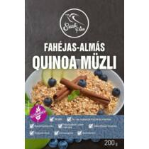 Szafi Free Müzli quinoa fahéj-alma 200 g