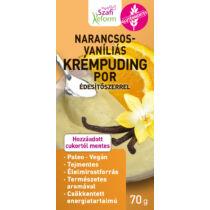 Szafi Reform Narancs-vaníliás pudingpor 70 g