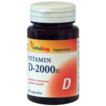 Vitaking D-2000 lágyzselatin kapszula 90 db