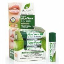 Dr. Organic Bio aloe vera ajakbalzsam 5.7 ml