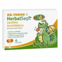 Dr. Theiss Herbalsept nyalóka torokfájdalomra 6 db