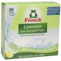Frosch Mosogatógép tabletta zöldcitromos 26 db