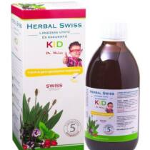 Herbal Swiss Kid folyékony szirup 150 ml