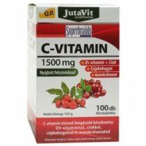 Jutavit C-vitamin 1500mg+D3+Cink+Csppkebogyó+Acerola kivonat tabletta 100 db