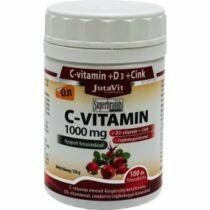 Jutavit C-vitamin 1000mg+D3+ Cink+Csipkebogyó kivonat tabletta 100 db