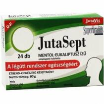 Jutavit Jutasept szopogató tabletta mentol-eukaliptusz 24 db