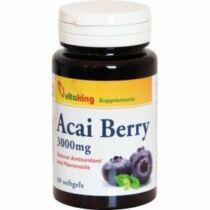 Vitaking Acai Berry 150 mg kapszula 60 db