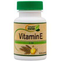 Vitamin Station E vitamin tabletta 100 db