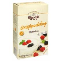 Bauck Hof bio gluténmentes grízpuding 130 g