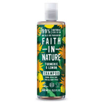Faith In Nature Sampon kurkuma és citrom 400 ml