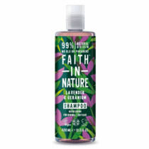 Faith In Nature Sampon levendula-geránium 400 ml