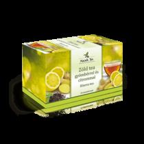 Mecsek Zöld tea gyömbérrel és citrommal 20