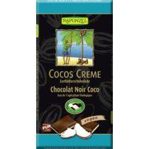Rapunzel Bio Rizstejes csokoládé kókuszkrémes 100 g