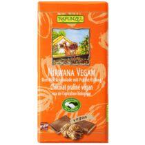 Rapunzel Bio Rizstejes csokoládé nirwana vegán 100 g