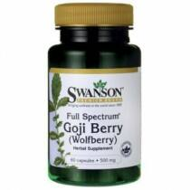 Swanson Goji berry kapszula 500 mg 60 db