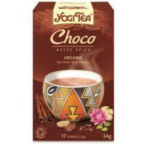 Yogi Bio Tea csokoládés azték fűszeres 17 db